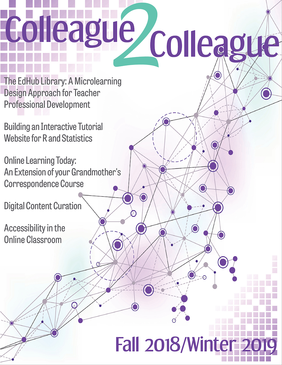 Colleague2Colleague Fall 2018/Winter 2019 Cover